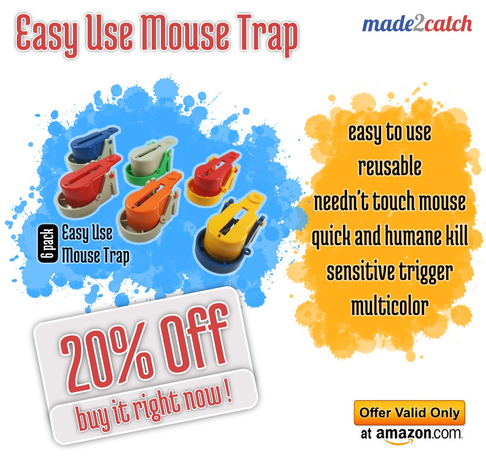 Easy Use Mouse Trap - 20% Off