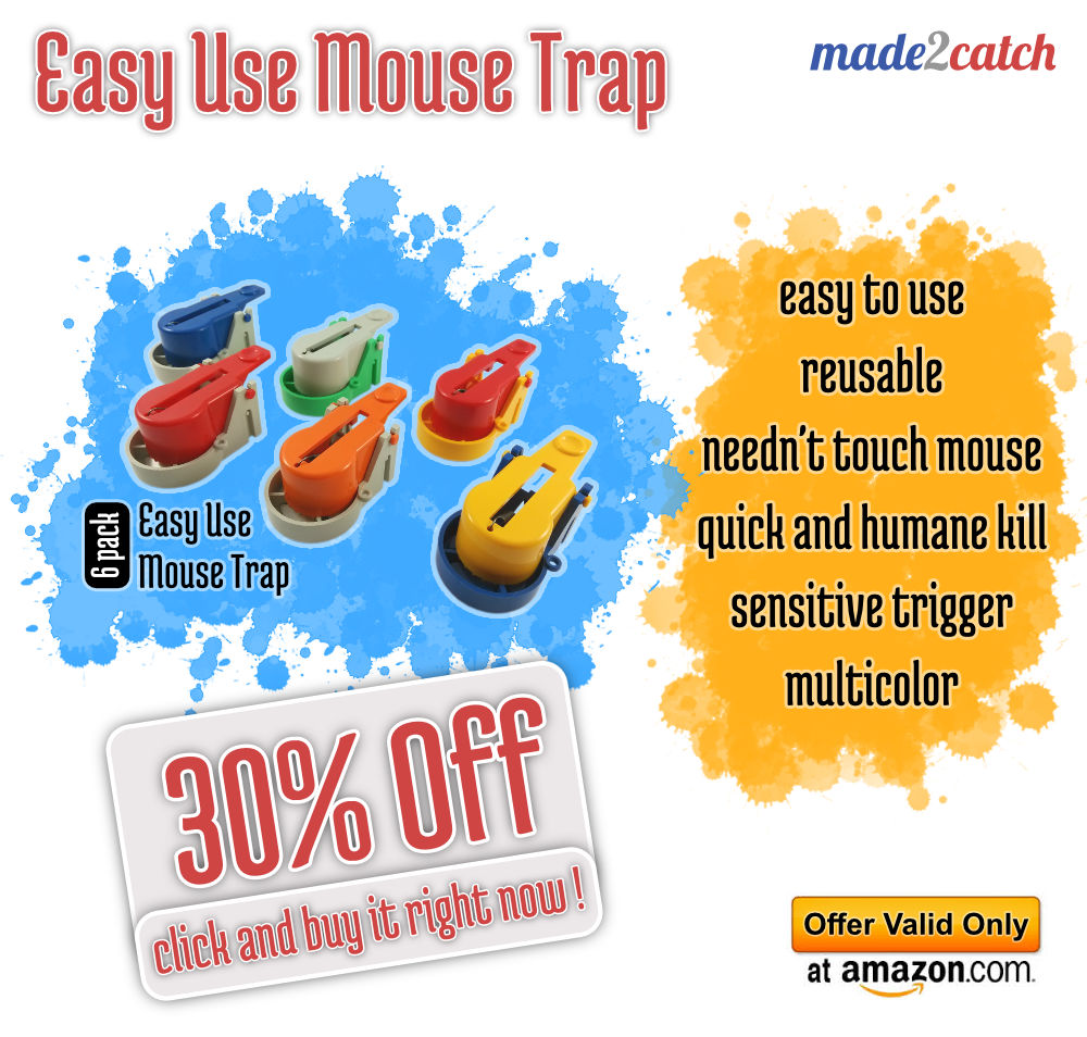 Easy Use Mouse Trap - 30% Off